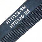 126-3M HTD Timing Belt 9mm width