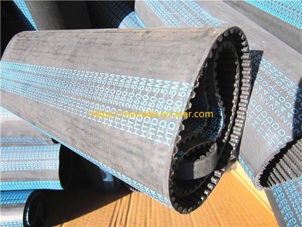 250-5M HTD Timing Belt width 6mm