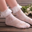 3 pairs Rose pattern lolita lace socks