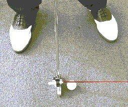 LASER GOLF TRAINER - Swing, Putting + More + FREE Golf Ball Finder