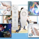 6 color 2in1 Wireless Remote Controller and Nunchuk Controller for Nintendo