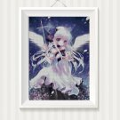 Anime Angel cross stitch pattern in pdf