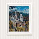 Bavarian Castle- cross stitch pattern in pdf ANCHOR