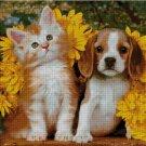 Kitty and puppy cross stitch pattern pdf -