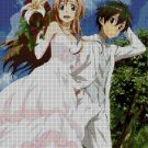 Anime wedding 2 cross stitch pattern in pdf ANCHOR