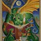 Cartoon dragons cross stitch pattern in pdf ANCHOR