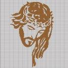 JESUS FACE CROCHET AFGHAN PATTERN GRAPH
