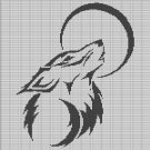 WOLF AND THE MOON CROCHET AFGHAN PATTERN GRAPH