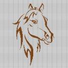 HORSE HEAD CROCHET AFGHAN PATTERN GRAPH