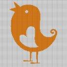 LOVE BIRD CROCHET AFGHAN PATTERN GRAPH