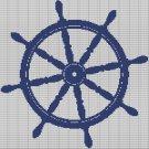 SHIP STEERLING WHEEL CROCHET AFGHAN PATTERN GRAPH