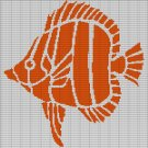 FISH3 CROCHET AFGHAN PATTERN GRAPH