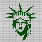 STATUE OF LIBERTY CROCHET AFGHAN PATTERN GRAPH