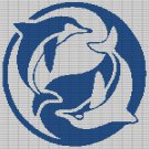 DOLPHINS CROCHET AFGHAN PATTERN GRAPH