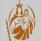 SAINT MARY AND JESUS CROCHET AFGHAN PATTERN GRAPH