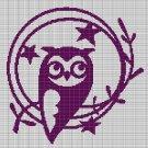 LITTLE OWL CROCHET AFGHAN PATTERN GRAPH