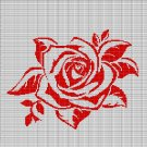 RED ROSE CROCHET AFGHAN PATTERN GRAPH2