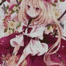 Little red Ridding hood anime cross stitch pattern in pdf2