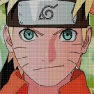 Naruto face anime cross stitch pattern in pdf