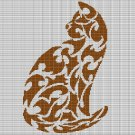 MOTIF CAT CROCHET AFGHAN PATTERN GRAPH