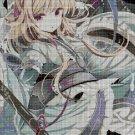 Anime girl 6 cross stitch pattern in pdf DMC