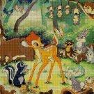 Bambi 2 - cartoon cross stitch pattern in pdf DMC