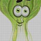 Chinese cabbage cross stitch pattern in pdf DMC