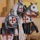 The Knights Templars cross stitch pattern in pdf DMC