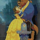 Beauty and the Beast cross stitch pattern in pdf  DMC