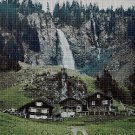 Switzerland2 cross stitch pattern in pdf DMC