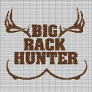 BIG RACK HUNTER CROCHET AFGHAN PATTERN GRAPH