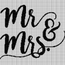 MR. & MRS. CROCHET AFGHAN PATTERN GRAPH