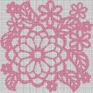 PINK FLOWERS CROCHET AFGHAN PATTERN GRAPH