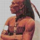 Cherokee Indian cross stitch pattern in pdf DMC