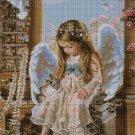 Little Angel cross stitch pattern in pdf DMC