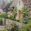 Cottage3 cross stitch pattern in pdf DMC