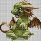 Dragon Baby2 cross stitch pattern in pdf DMC