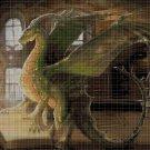 Educated dragon cross stitch pattern in pdf DMC