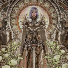 Fantasy picture cross stitch pattern in pdf DMC