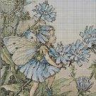 Flower fairy 3 cross stitch pattern in pdf DMC