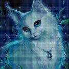 Kitty princess cross stitch pattern in pdf DMC