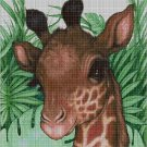 Little Giraffe cross stitch pattern in pdf DMC