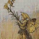 Flower fairy 15 cross stitch pattern in pdf DMC