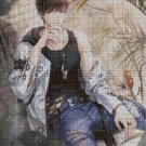 Anime boy 3 cross stitch pattern in pdf DMC