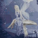 Blue Fairy 2 cross stitch pattern in pdf DMC
