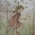 Flower fairy 23 cross stitch pattern in pdf DMC
