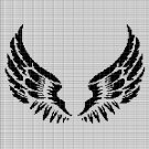 ANGEL WINGS CROCHET AFGHAN PATTERN GRAPH