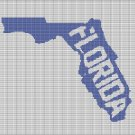 FLORIDA STATE CROCHET AFGHAN PATTERN GRAPH