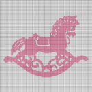 ROCKING HORSE CROCHET AFGHAN PATTERN GRAPH