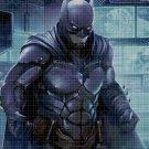 Batman cross stitch pattern in pdf DMC